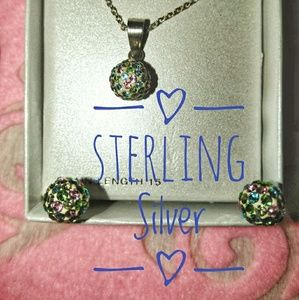 Other - Girls Pastels Sterling Jewelry Starter Set NWOT